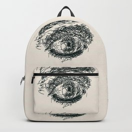 Exhausted  Eyes Backpack