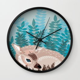 Soft Sleep Wall Clock