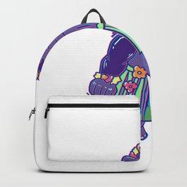 Girls dancing gorilla Backpack