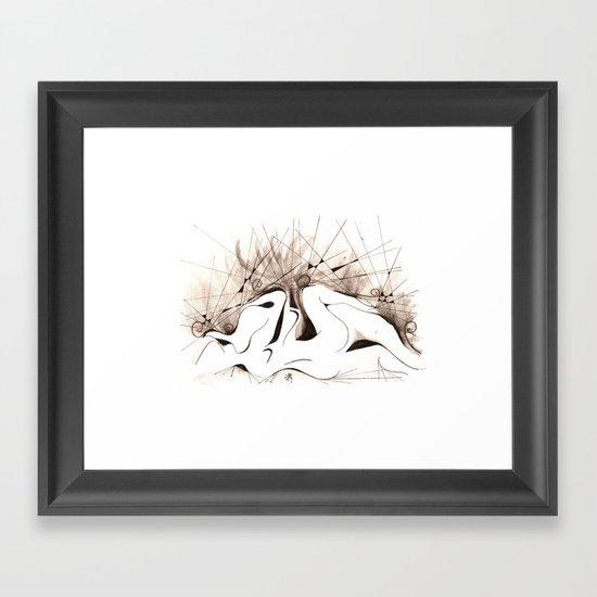 SIMBIOSI Framed Art Print