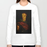 pablo picasso Long Sleeve T-shirts featuring King Picasso by Joe Ganech