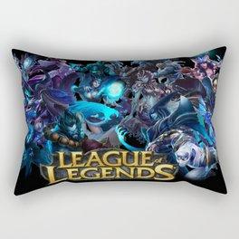 Blue League Rectangular Pillow