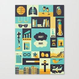TFiOS Items Canvas Print