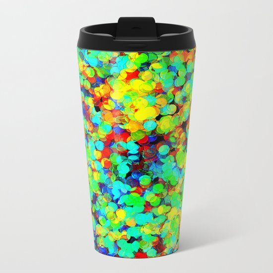 I Want To Be A Rainbow But I Don't Know How Metal Travel Mug