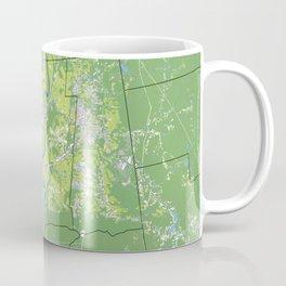 Pioneer Valley map Coffee Mug
