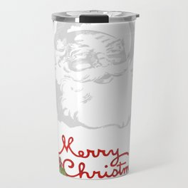 Jolly Santa Merry Christmas Travel Mug
