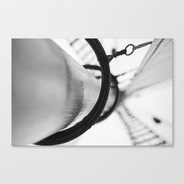Wooden Mast Canvas Print