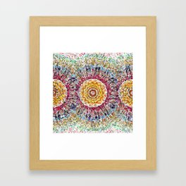 Papierkunst Framed Art Print