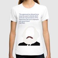 marx T-shirts featuring Marx-Minimalism by Bel17