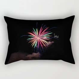 Star of Fireworks Rectangular Pillow