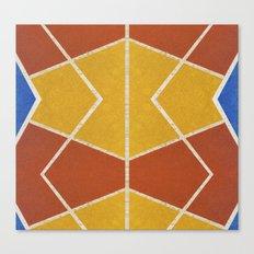Geometric color shapes Canvas Print
