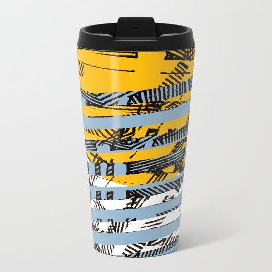 - blue or not - Metal Travel Mug