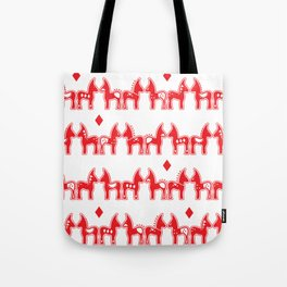 Dala Horse Tote Bag