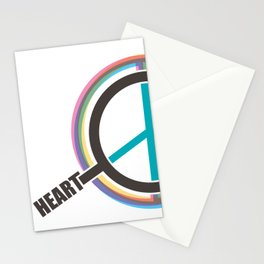 Finding The Peace From Our Heart Stationery Cards