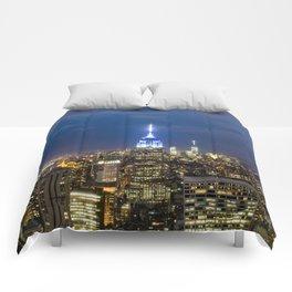 New York City, New York Comforters