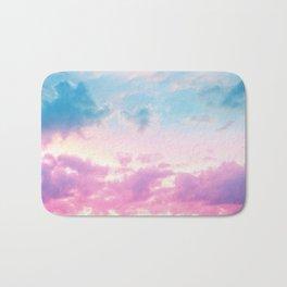 Unicorn Pastel Clouds #3 #decor #art #society6 Bath Mat
