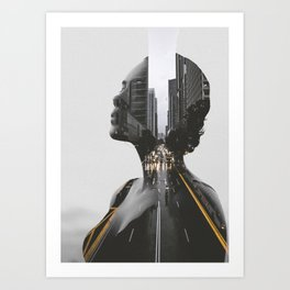 City 2 Art Print