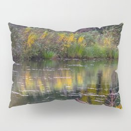 Channel in the Fall Pillow Sham