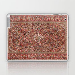 Kashan  Antique Persian Rug Laptop & iPad Skin