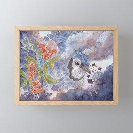 Giant Bluejay Framed Mini Art Print