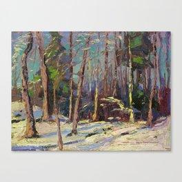 Tom Thomson Larry Dickson's Shack 1914 Canadian Landscape Artist Canvas Print