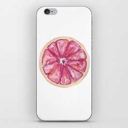 Grapefruit iPhone Skin