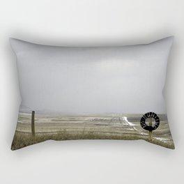 No Hunting Rectangular Pillow