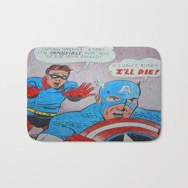 Captain Amerika: The Day Bucky Saved the Shield Bath Mat