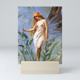 "Luis Ricardo Falero ""Lily Fairy"" Mini Art Print"