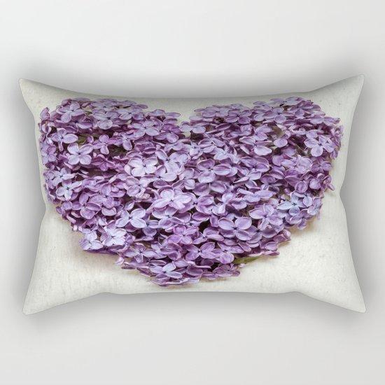 Summer Heart Rectangular Pillow