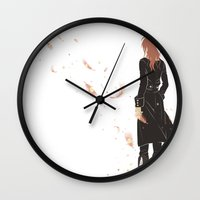dmmd Wall Clocks featuring To the ends of the earth by Aspen Bear