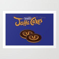 Apophis Jaffa Cakes Art Print