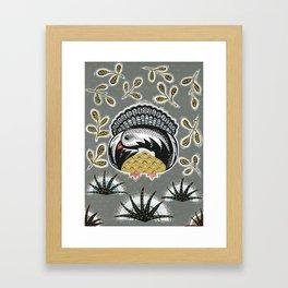 Bird Alone Framed Art Print