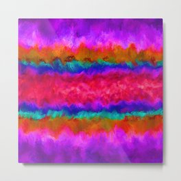 Colors on Fire Metal Print