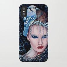 geai bleu iPhone X Slim Case
