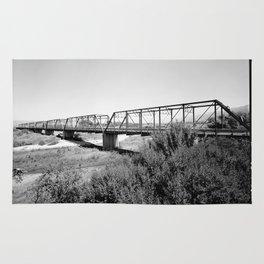 Salinas River Bridge, Monterey County, California Rug
