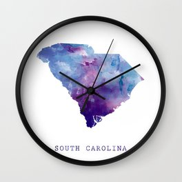 South Carolina Wall Clock