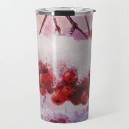 Winter paint Travel Mug
