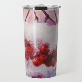 Winter paint Travel Mug