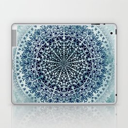 BLUE ICELAND MANDALA Laptop & iPad Skin
