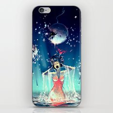 Voice of Crystal iPhone & iPod Skin