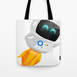 O3 Luna Robot Tote Bag