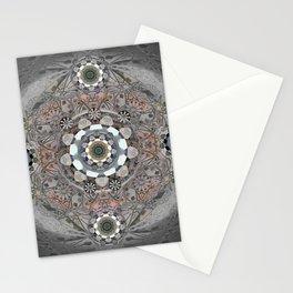 Modern Tibetan Healing Mandala #7 Stationery Cards