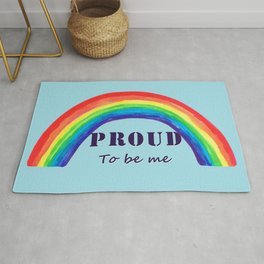 Proud to be me Rug