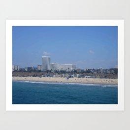 Santa Monica I Art Print