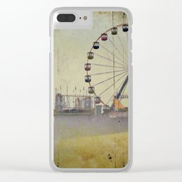 Seaside Heights New Jersey Clear iPhone Case