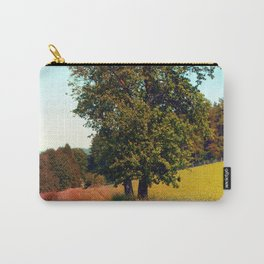 Old tree, vibrant surroundings Carry-All Pouch
