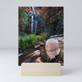 Morialta waterfall Mini Art Print