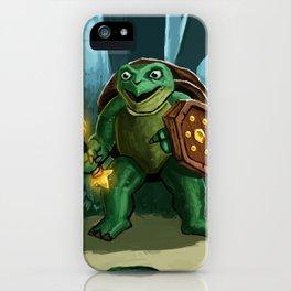 Turtle Paladin iPhone Case