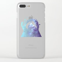 Sky Syndrome Clear iPhone Case